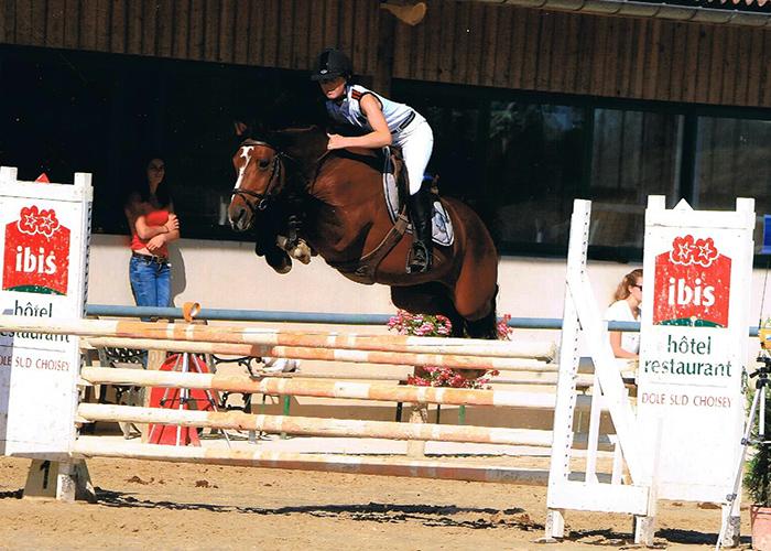 Cheval saut 2